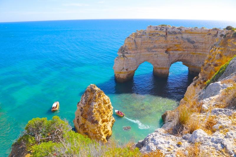 Marinha Beach Archs