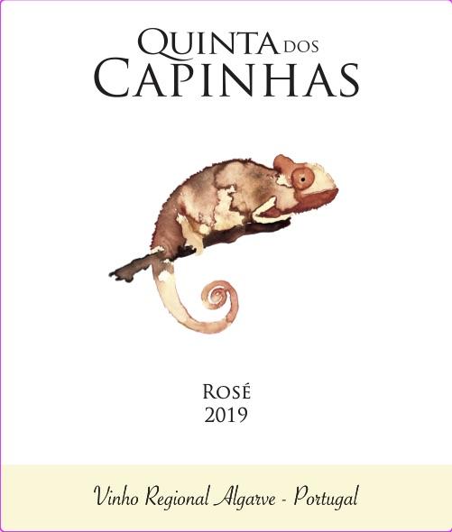 Quinta dos Capinhas - Rosé frente